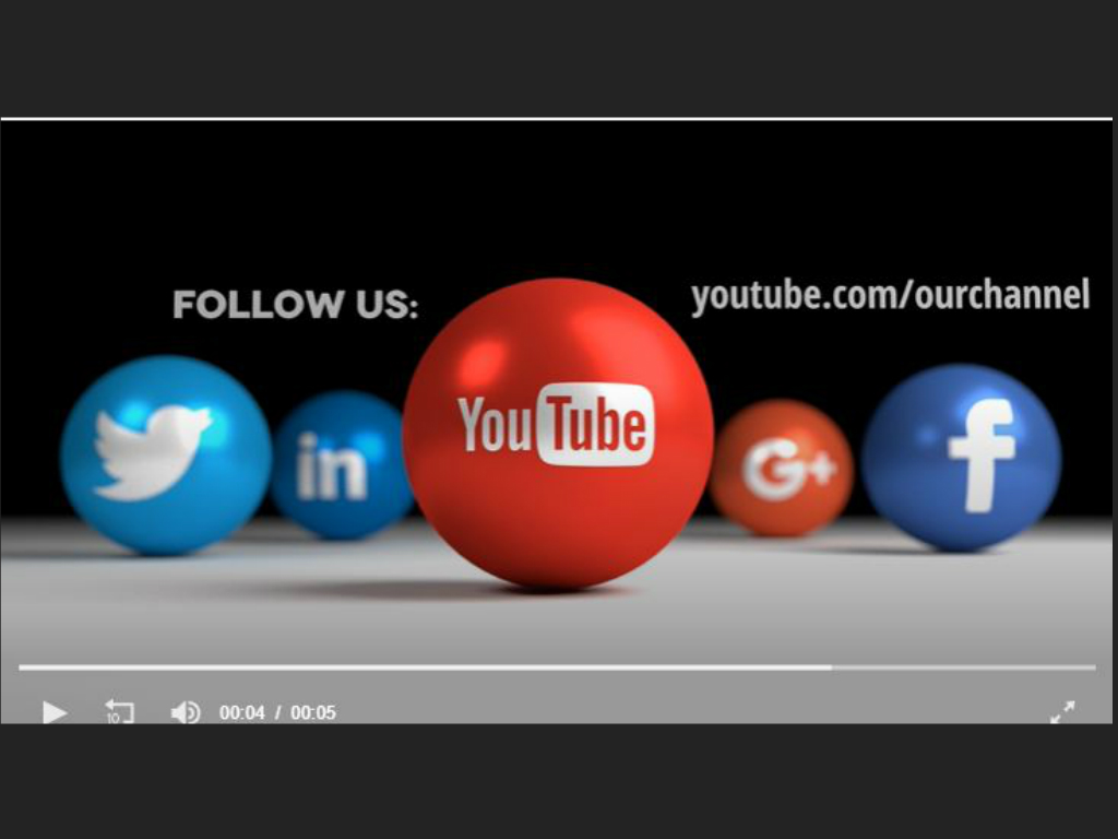 Social Icon Balls Youtube