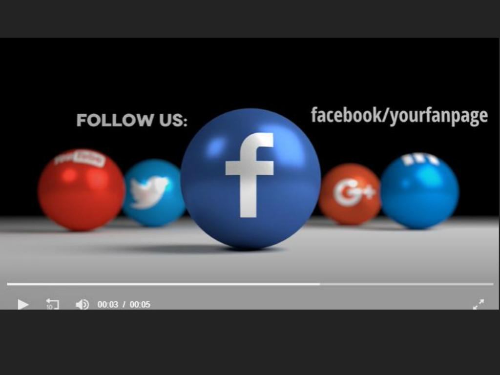 Social Icon Balls Facebook