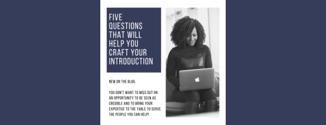 How To Create Your Introduction