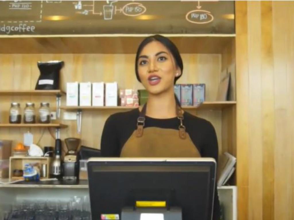 Interactive Coffee Shop Video